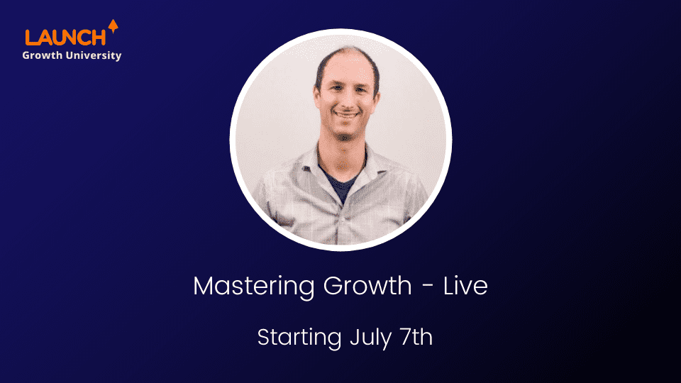 Mastering Growth – Live